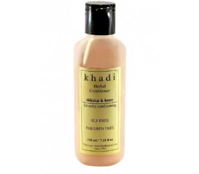 "Травяной кондиционер ""Шикакаи и Мед"" Khadi Conditioner Shikakai Honey FREE SLS 210 мл"