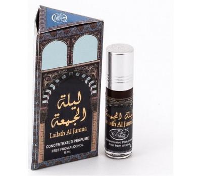 Арабские масляные духи Lady Classic Lailath al Jumua от Al Rehab, 6 мл
