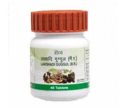 Лакшади Гуггул Lakshadi Guggu Patanjali 40 таб - лечение опорно-двигательной системы