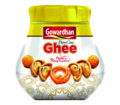 Масло Гхи Говардхан Параг Милк Фудс, Ghee Gowardhan Parag Milk Foods Ltd, 1000мл