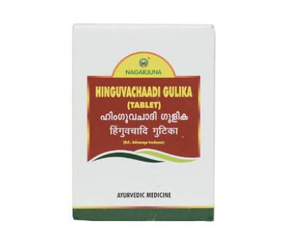 Хингувачади гулика- ДЛЯ ПИЩЕВАРЕНИЯ / Hinguvachadi Gulika, Nagarjuna, 100 таб.