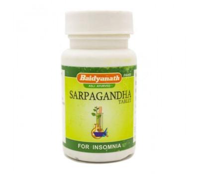 Сарпагандха (Sarpagandha) Baidyanath, 50 таб.