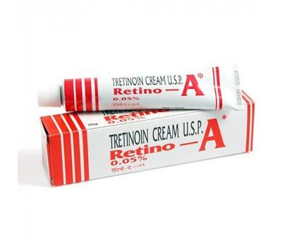 Третиноин Крем Ретино-А / Tretinoin Cream U.S.P. Retino-A 0,05%, Janssen, 20 гр.