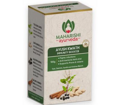 Аюш Кватх -Для Иммунитета /Immunity Booster Ayush Kwath, Maharishi Ayurveda, 100г