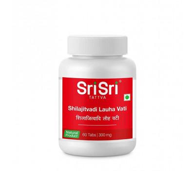 Шиладжитвади Лауха Вати/ Shilajitvadi Lauha Vati  Sri Sri Ayurveda, 60 таб.