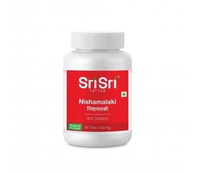 Нишамалаки- против диабета/Nishamalaki, Sri Sri Tattva, 60 таб.