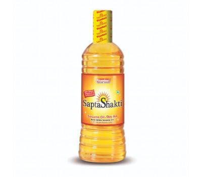 Масло кунжутное пищевое Sapta Shakti, Pitambari Products Pvt. Ltd. Индия, 500 мл
