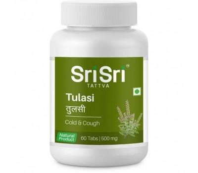 ТУЛАСИ- при простуде / TULASI, Sri Sri Ayurveda/Tattva, 60 таб.