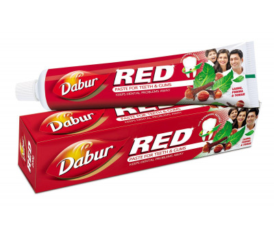 Зубная паста Ред  Дабур (Red Toothpaste)  Dabur, 100г